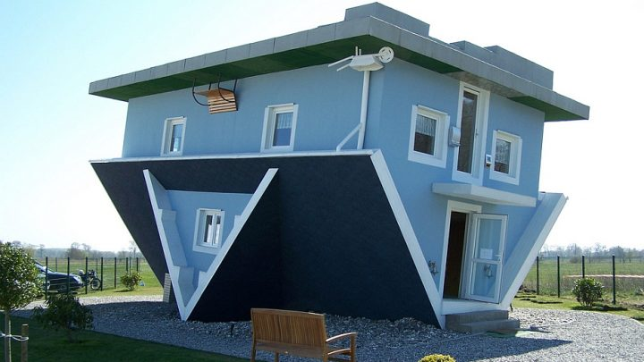 Houses with unusual designs are a definite stand out from the rest.
